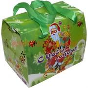 Коробка подарочная новогодняя (RA-100) 14 см для конфет, цена за 12 шт