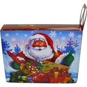 """Коробка подарочная """"Дед Мороз"""" 20х26 см, цена за 12 шт"""