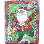 Пакет подарочный новогодний (6238) 18х23 см, цена за 12 шт