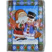 Пакет подарочный новогодний (6233) 32х44 см, цена за 12 шт