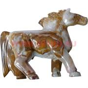 Лошадка из оникса (21 см длина)
