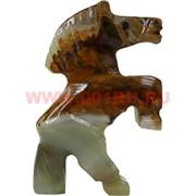 Конь на дыбах из оникса 2 размер 6,5 см (3 дюйма)