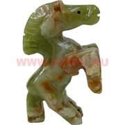 Конь на дыбах из оникса (4 дюйма) 10,5 см