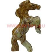 Конь на дыбах из оникса (6 дюймов) 16,5 см