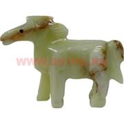 Конь из оникса (4 дюйма) 10,5 см длина