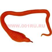 Змея силиконовая 1 м цвета в ассортименте (растягивается до 5 м) 12 шт/уп