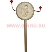 Буддийский барабан деревянный большой