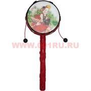 Буддийский барабан (NS-020) цветной малый