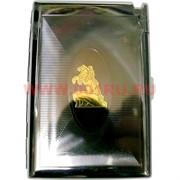 Портсигар с зажигалкой на 12-20 сигарет в ассортименте