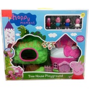 Свинка Пеппа «домик на дереве с фигурками» 18 шт/кор
