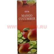 "Благовония HEM ""Mango Cucumber"" (манго и огурец) 6 шт/уп, цена за уп"