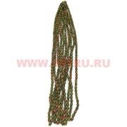 Нитка бусин яшма зеленая цена за 1 нитку, натуральный камень