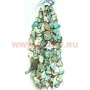 Нитка бусин варисцит белый цена за 1 нитку, натуральный камень