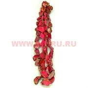 Нитка бусин варисцит розовый цена за 1 нитку, натуральный камень