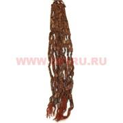 Нитка бусин коричневый авантюрин квадрат цена за 1 нитку, натуральный камень