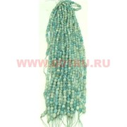 Нитка бусин амазонит цена за 1 нитку, натуральный камень