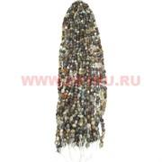 Нитка бусин бразильский агат цена за 1 нитку, натуральный камень