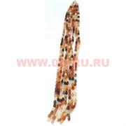 Нитка бусин сердолик, цена за 1 нитку, натуральный камень