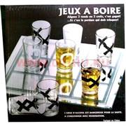 Игра «Пьяные крестики-нолики» круглые стопки малые