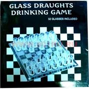 Игра «Пьяные шахматы» с круглыми стопками