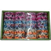 Игрушка «радуга сердечки» 7 см (цена за упаковку из 12 шт)