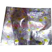 Упаковочная бумага с рисунком 50х70, цена за 100 листов, цвета в ассортименте