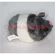 Мышка (хомячок) на веревочке бегает