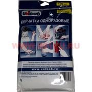 Перчатки одноразовые Unibob 100 шт