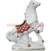 Конь фарфор со стразиками 10 см (920) 3 цвета