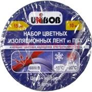 Набор цветных изоляционных лент из ПВХ 15 мм 10 м, цена за 5 шт