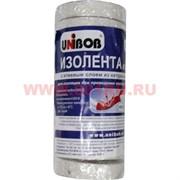 Изолента из ПВХ Юнибоб (клей каучук) белая 15 мм 20 м, цена за 10 шт (Unibob)