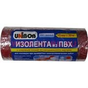 Изолента из ПВХ Юнибоб (клей каучук) красная 15 мм 20 м, цена за 10 шт (Unibob)