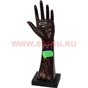 """Подставка под кольца """"колечница рука"""" со стразами (KL-283), 60 шт/кор"""