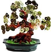 Денежное дерево №5 (22см) бронза