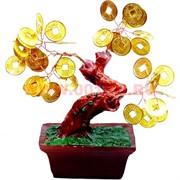 Денежное дерево №2 (11см) золото