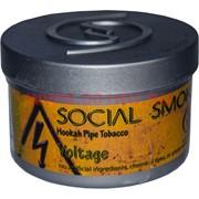 "Табак для кальяна Social Smoke 250 гр ""Voltage"" (USA) арбуз лимон амаретто"