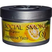"Табак для кальяна Social Smoke 250 гр ""Japanese Yuzu"" (USA) японский лимон юзу"