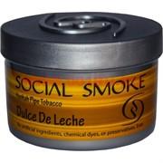 "Табак для кальяна Social Smoke 250 гр ""Dulce De Leche"" (USA) сливочная карамель"