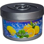 "Табак для кальяна Social Smoke 250 гр ""Arctic Lemon"" (USA) лимон с мятой"