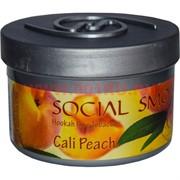 "Табак для кальяна Social Smoke 250 гр ""Cali Peach"" (USA) персик"