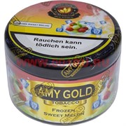 "Табак для кальяна Amy Gold 250 гр ""Frozen Sweet Melon"" (Германия) эми голд"