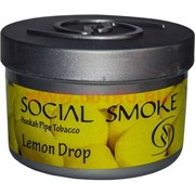 "Табак для кальяна Social Smoke 250 гр ""Lemon Drop"" (USA) лимон"