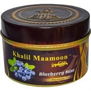 "Табак для кальяна Khalil Mamoon 250 гр ""Blueberry Mint"" (USA) черника с мятой"