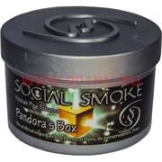 "Табак для кальяна Social Smoke 250 гр ""Pandora's Box"" (USA) вишня со специями"