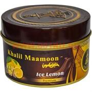 "Табак для кальяна Khalil Mamoon 250 гр ""Ice Lemon"" (USA) освежающий лимон"