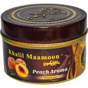 "Табак для кальяна Khalil Mamoon 250 гр ""Peach Aroma"" (USA) персик"