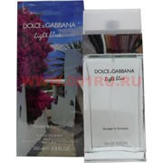 "Туалетная вода Dolce Gabbana ""Light Blue"" 100 ml женская"