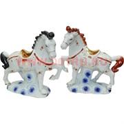 Пара лошадей (174 D) из фарфора