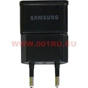 Зарядка для Самсунг (Samsung) 2 ампера блок без кабеля цвет черный