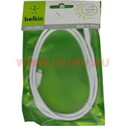 "Кабель для Самсунг (Samsung)  ""Belkin"" цвет белый"